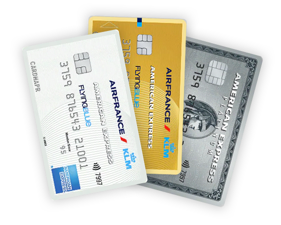 American Express Card (AMEX) creditcards - transparent