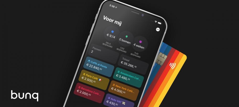 bunq Metal Card app