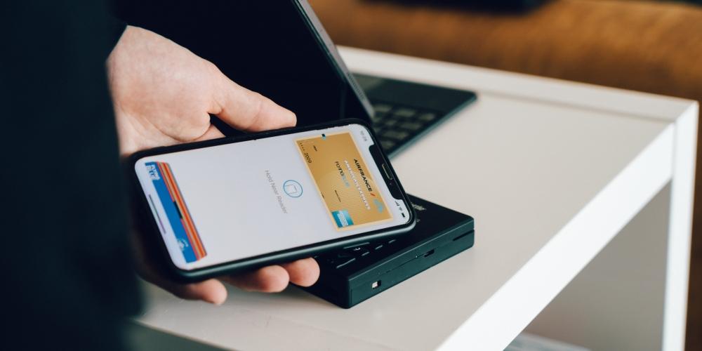 Betalen met American Express creditcard